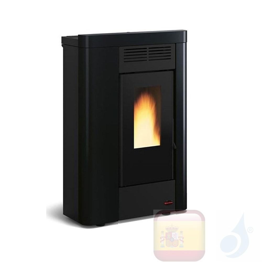 Estufa de pellets Extraflame 8.0 kW Annabella metal Negro