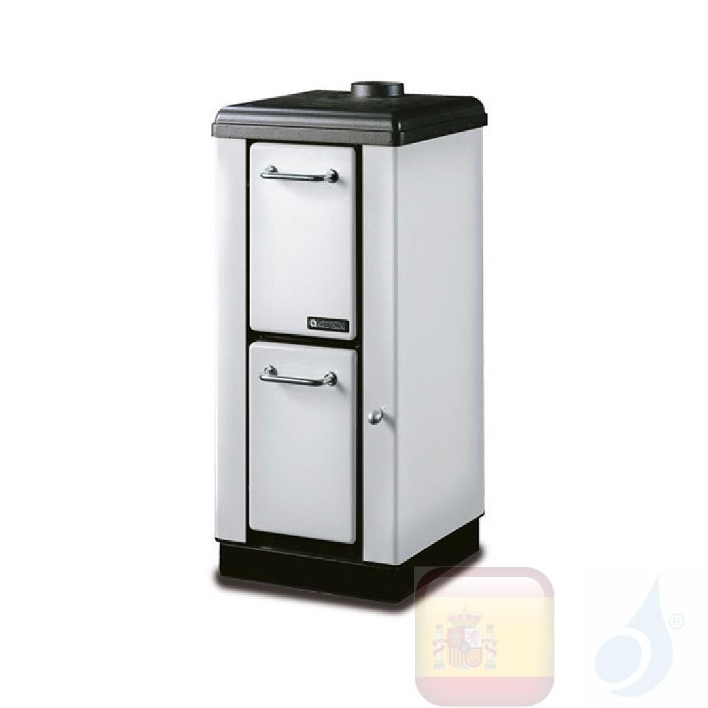 Estufas de leña La Nordica Mignon 4.0 kW Acero Blanco