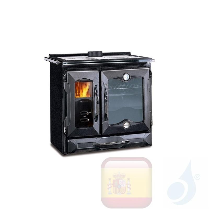 Estufa de cocina La Nordica Suprema 8.5 kW Negro
