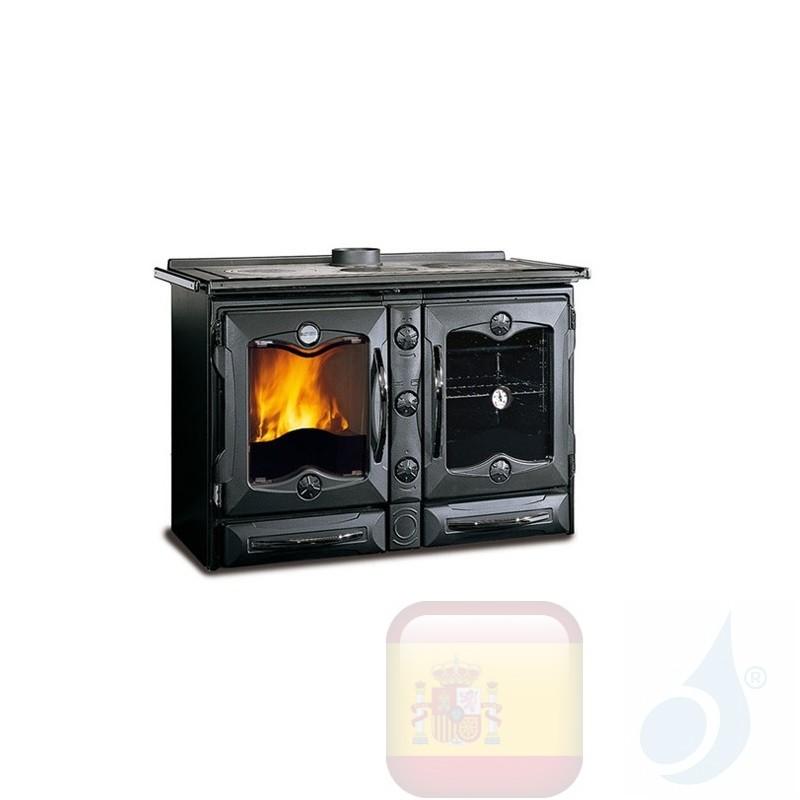 Estufa de cocina La Nordica America 11.6 kW Negro
